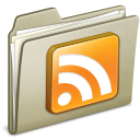 Lightbrown RSS icon