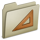 Lightbrown Ruler icon