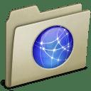 Lightbrown Sites icon
