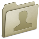 Lightbrown Users icon