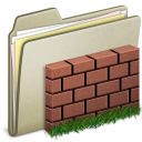 Lightbrown Wall icon