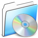 CD Folder smooth icon
