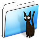 Cat Folder smooth icon