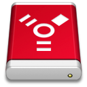 Drive PRODUCT Red FireWire icon