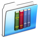 Library Folder smooth icon