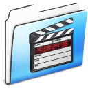 Movie Folder smooth icon