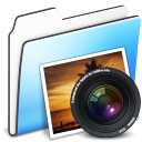 Photo Folder smooth icon