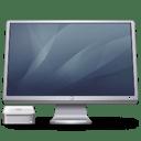 Cinema Display Macmini graphite icon