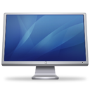 Cinema-Display-blue icon