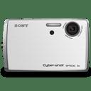 Cybershot DSC T33 white icon