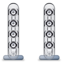 Harman Kardon SoundSticks II Speakers only icon