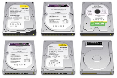 Internal Drive Icons