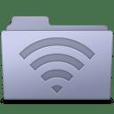 AirPort Folder Lavender icon