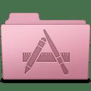 Applications Folder Sakura icon