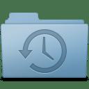 Backup Folder Blue icon