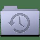 Backup Folder Lavender icon