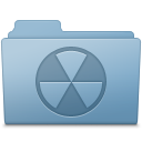 Burnable Folder Blue icon