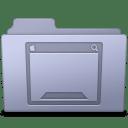 Desktop-Folder-Lavender icon