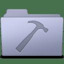 Developer Folder Lavender icon