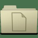 Documents Folder Ash icon