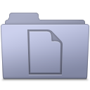 Documents Folder Lavender icon