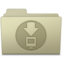 Downloads Folder Ash icon