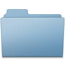 Generic Folder Blue icon