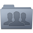 Group Folder Graphite icon