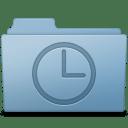 History Folder Blue icon