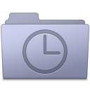 History-Folder-Lavender icon