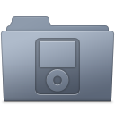 IPod Folder Graphite icon