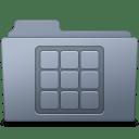 Icons Folder Graphite icon