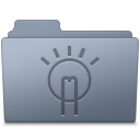 Idea Folder Graphite icon
