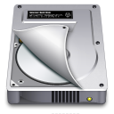 Internal Drive Half open icon