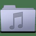 Music Folder Lavender icon