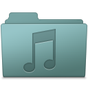 Music Folder Willow icon