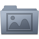 Photo Folder Graphite icon