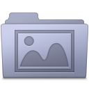 Photo Folder Lavender icon