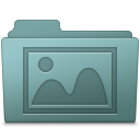 Photo Folder Willow icon
