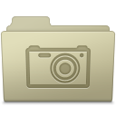 Pictures Folder Ash icon