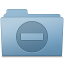 Private Folder Blue icon
