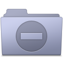 Private Folder Lavender icon