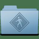 Public Folder Blue icon