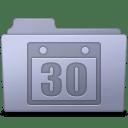 Schedule Folder Lavender icon