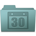 Schedule Folder Willow icon