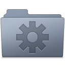 Setting Folder Graphite icon