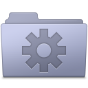 Setting Folder Lavender icon