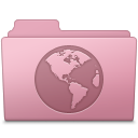 Sites Folder Sakura icon