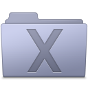 System Folder Lavender icon