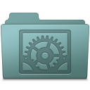 System Preferences Folder Willow icon